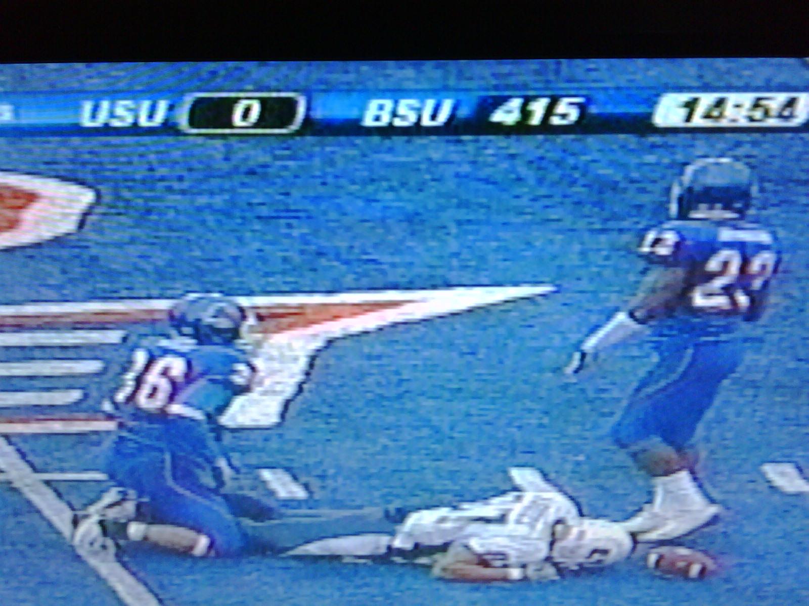 Utah State VS Boise State (4th Quarter)